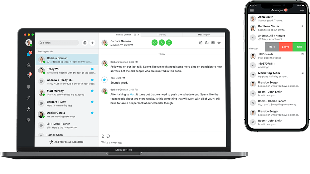 unified communications messaging