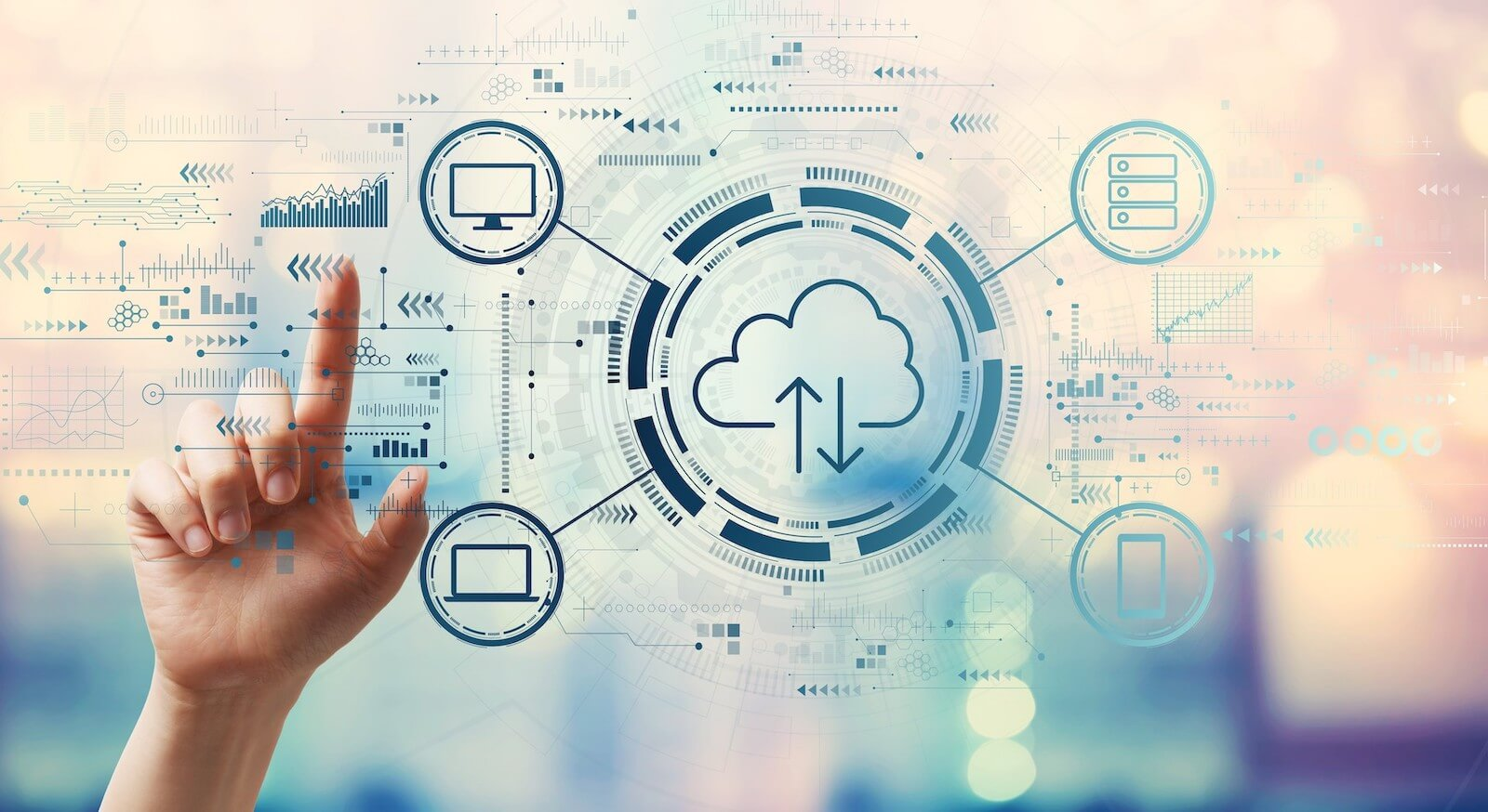 Cloud computing with devices and workloads